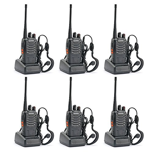 BaoFeng Two Way Radio (Pack of 6pcs radios) - Customize Package