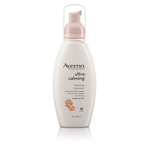 Aveeno Ultra-Calming Foaming Cleanser For Sensitive Skin, 6 Fl. Oz