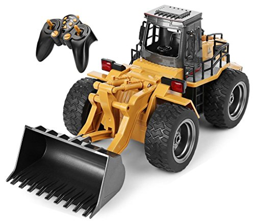 Top Race 6 Channel Full Functional Front Loader