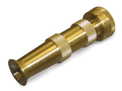 Dramm Heavy-Duty Brass Adjustable Hose Nozzle