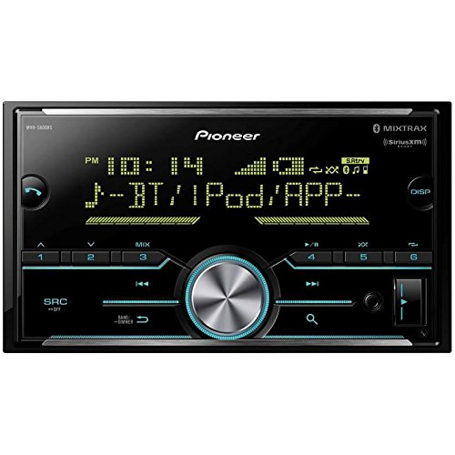 Pioneer Double Din Digital Media Receiver with Enhanced Audio Functions