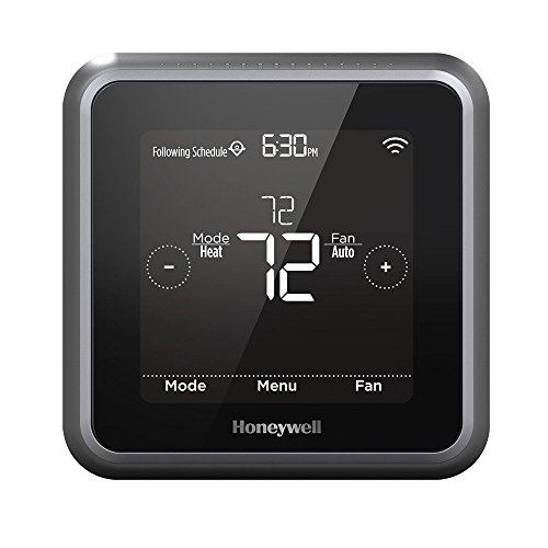 Honeywell Lyric T5 Wi-Fi Smart 7 Day Programmable Touchscreen Thermostat with Geofencing, Requires C Wire, Works with Alexa