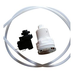 SODIAL(R) 16A On Off Push Button Switch Jetted Whirlpool Jet For Bath Tub Spa Garbage