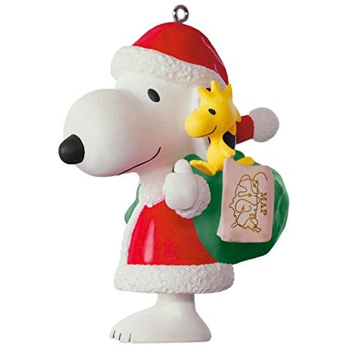 Hallmark Keepsake 2017 PEANUTS Spotlight on Snoopy 20th Anniversary Porcelain Christmas Ornament