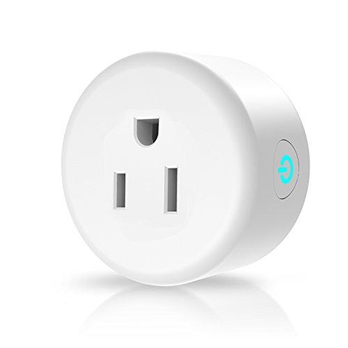 Anbes Wi-Fi Smart Plug Mini Outlet, Alexa Plug Smart Socket