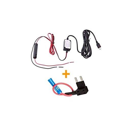 Spy Tec Mini USB Dash Cam 10 Foot Hardwire and Fuse Kit