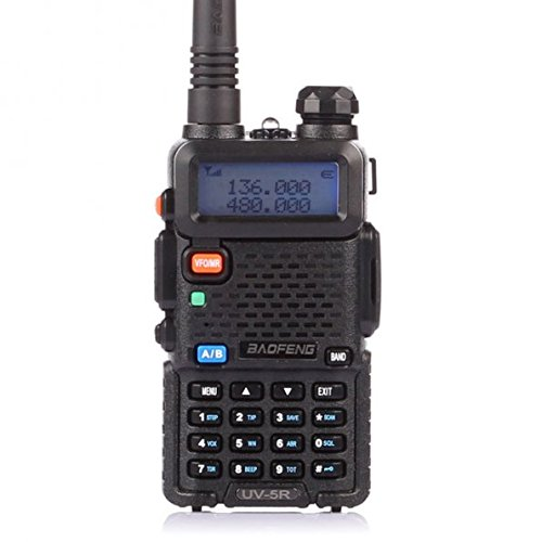 BaoFeng Dual Band Two Way Radio (Black)