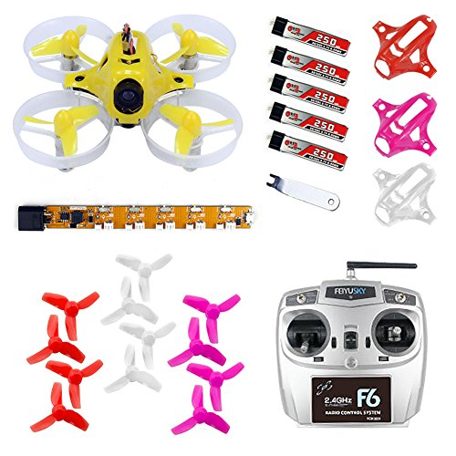 QWinOut Tiny6 RTF Mini Racing Drone Quadcopter with 800TVL Camera