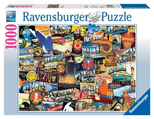 Ravensburger Road Trip USA - 1000 Piece Puzzle