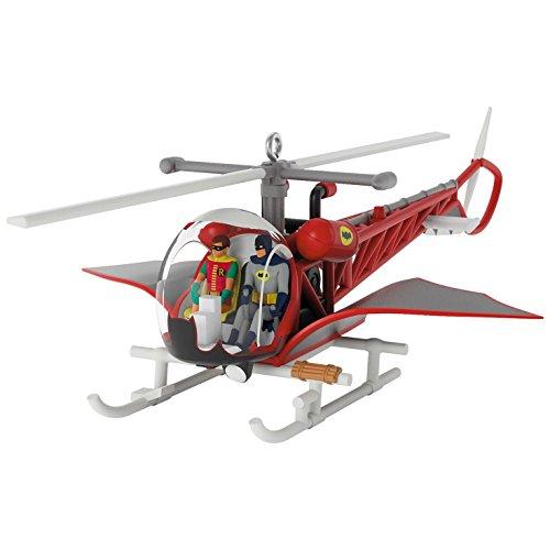 Hallmark Keepsake 2017 BATMAN CLASSIC TV SERIES Batcopter Christmas Ornament