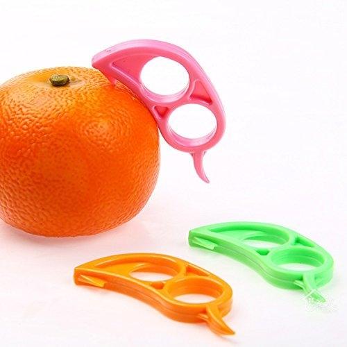 CJESLNA 4 x Orange Opener Peeler Slicer Cutter