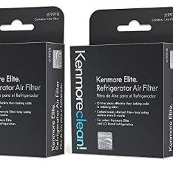 Kenmore Elite Refrigerator Air Filter, 2 pack