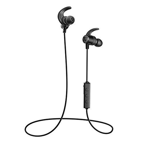 TaoTronics Bluetooth Headphones, Sweatproof Wireless In Ear Earbuds