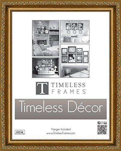 """Timeless Frames Carrington Frame Gold, 16"""" x 20"""""""