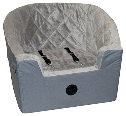 "K&H Pet Products Bucket Booster Pet Seat Small Gray 14.5"" x 20"""