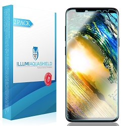 Galaxy S9 Screen Protector [2-Pack], ILLUMI AquaShield HD Clear Anti-Bubble Film Screen Protector for Galaxy S9 (Case Friendly Compatible)