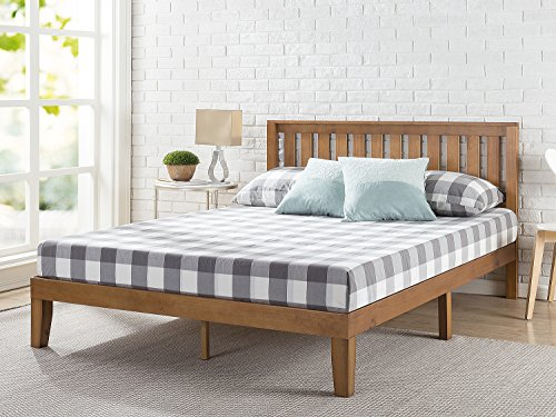Zinus 12 Inch Wood Platform Bed with Headboard