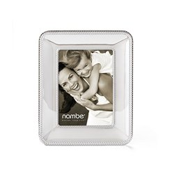 "Nambe Braid Picture Frame, 5"" x 7"""