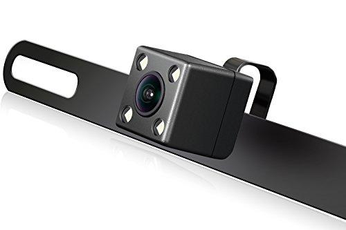 eRapta ERT03 2nd Generation Car Rear View Reversing Backup Camera With 149°Perfect View Angle Design 4 LED Lights Night Vision 9 Level Waterproof Car Dash Security Sensor Back up Camera