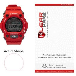 KlearKare Invisible Screen Shield Protector for Casio G-Shock Watch Bezel | Military Grade Scratch Protection