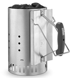 Weber Stephen Company Rapid Fire Chimney Starter, Silver