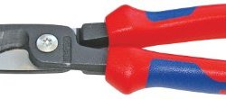 Knipex Tools 13 82 8, 6 in 1 Electrical Installation Pliers with Comfort Grip Handle