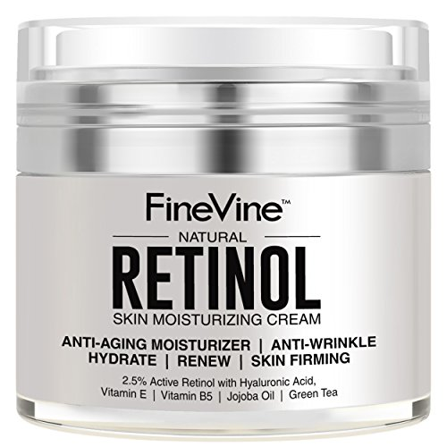 Retinol Moisturizer Cream for Face and Eye Area - Made in USA