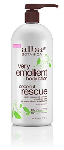 Alba Botanica Very Emollient Coconut Rescue Body Lotion
