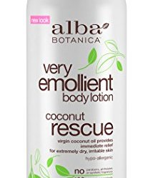 Alba Botanica Very Emollient Coconut Rescue Body Lotion