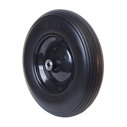 Anti Flat Replacement Ribbed Wheel for Wheelbarrow 16 Inch