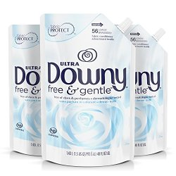 Downy Free & Gentle Liquid Fabric Conditioner, Fabric Softener