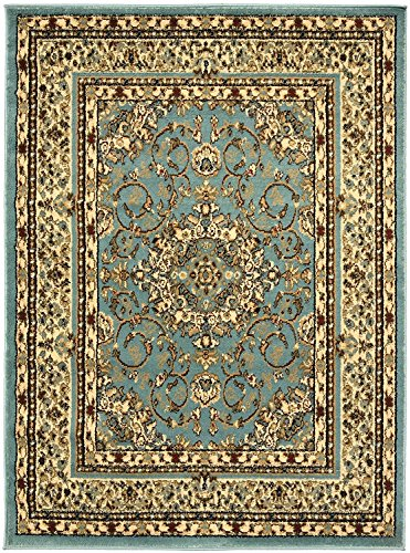 Sweet Home Stores King Collection Isfahan Oriental Medallion Design Area Rug
