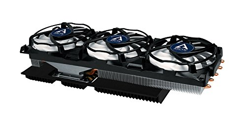 ARCTIC Accelero Xtreme IV High-End Graphics Card Cooler with Backside Cooler for Efficient RAM and VRM-Cooling DCACO-V800001-GBA01