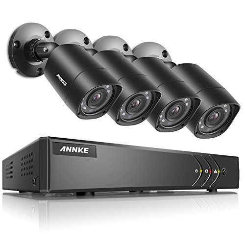 ANNKE 8+2 Channel Security Camera System 1080P Lite H.264+ DVR