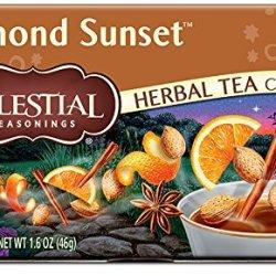 Celestial Seasonings Almond Sunset Herbal Tea, 20 Count (Pack of 6)
