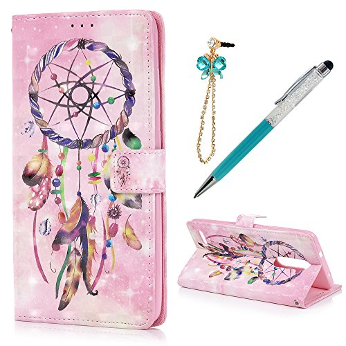 ZTE ZMax Pro / ZTE Z981 Case Wallet - Dream Catcher
