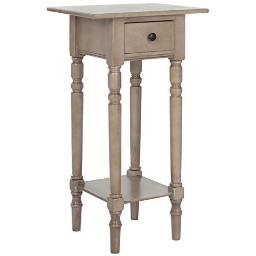 Safavieh American Homes Collection Sabrina Vintage Grey Side Table