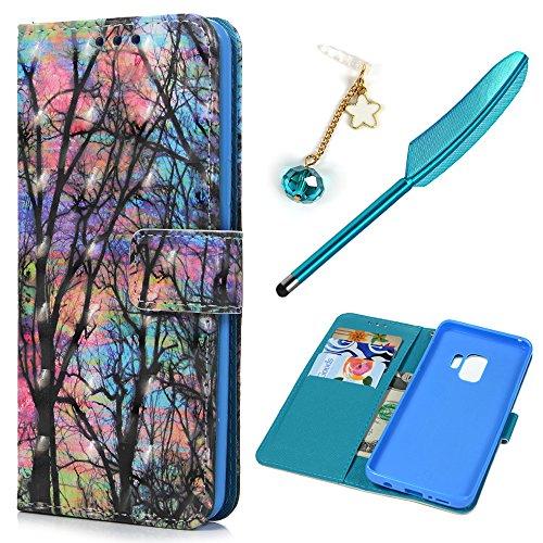 S9 Case, Galaxy S9 Wallet Case