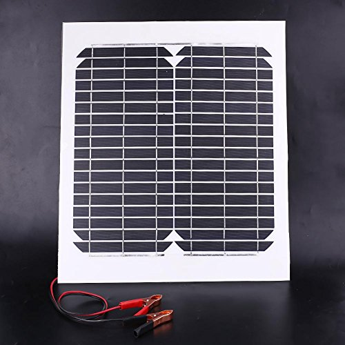 Cewaal 15W 12V Flexible Foldable Solar Panel Battery Charging DIY for Outdoor Travel Camping