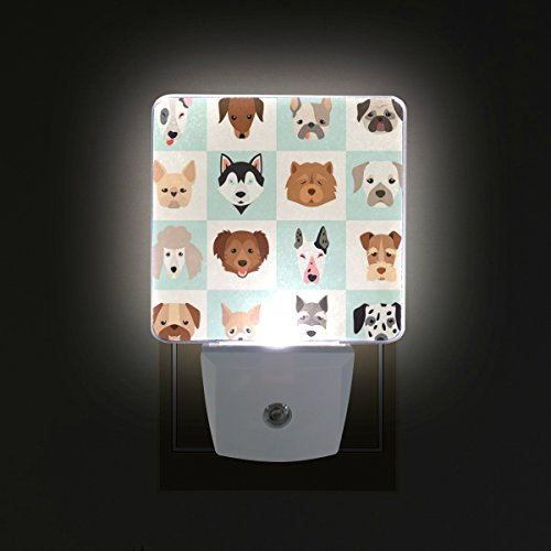 ALAZA LED Night Light With Smart Dusk To Dawn Sensor