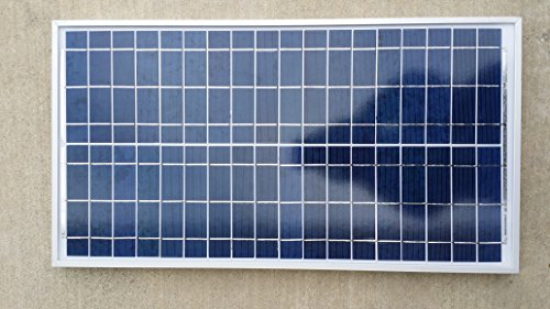 35W Watt Poly Solar Panel Off Grid 22.66V RV Boat Battery Charger