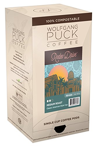 Wolfgang Puck Coffee, Rodeo Dr. Coffee, 9.5 Gram Pods