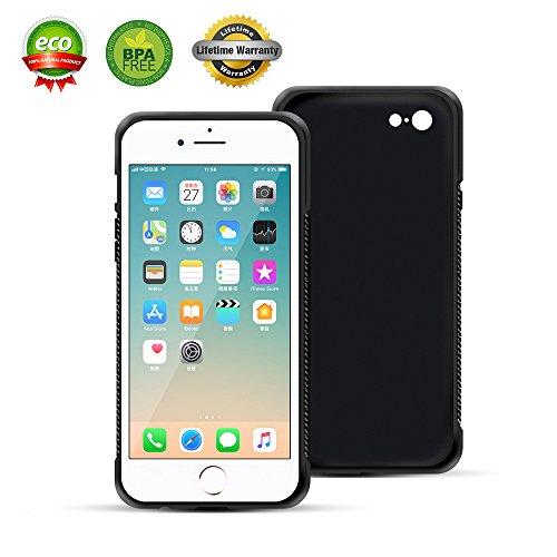 ChuangSiAo iPhone 6 plus Case 6s plus black defende box men military car material