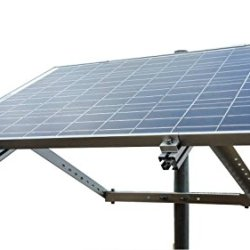 WindyNation Side of Pole Solar Panel Mount Rack for 30W to 120W Solar Panel
