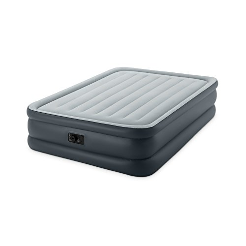 Intex Dura-Beam Standard Series Essential Rest Airbed with Built-In Electric Pump