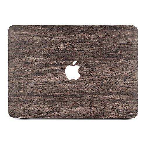 "BELK-MacBook 12""with Retina Display Case, 2 In 1 Wood Texture Pattern"
