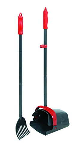 Petmate Clean Response Waste Management System, Red/Dark grey
