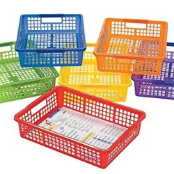 Fun Express Classroom Storage Baskets with Handles