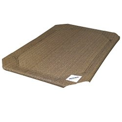 Coolaroo Elevated Pet Bed Replacement Cover Large Nutmeg
