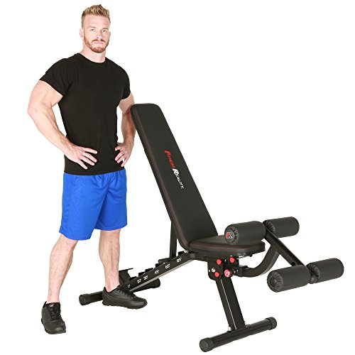 Fitness Reality 2000 Super Max XL High Capacity Weight Bench with Detachable Leg Lock-Down